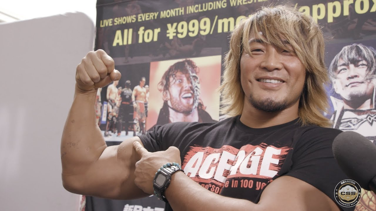 Hiroshi Tanahashi Challenges For IWGP US Title On Dynamite