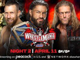 Wrestlemania 37 Night two